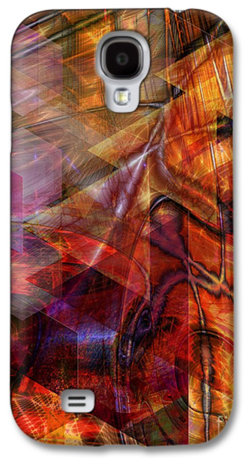 Deguello Sunrise Galaxy S4 Case featuring the digital art Deguello Sunrise by John Beck