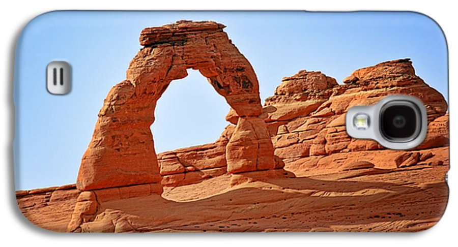 Landscape Galaxy S4 Case featuring the photograph Delicate Arch The Arches National Park Utah by Christine Till