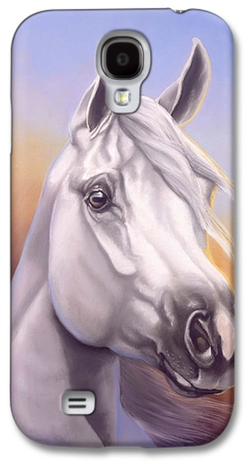 Arabian Galaxy S4 Case featuring the painting Desert Prince by Howard Dubois