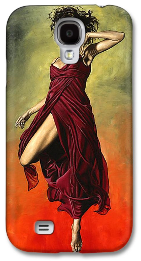 Dance Galaxy S4 Case featuring the painting Destiny's Dance by Richard Young