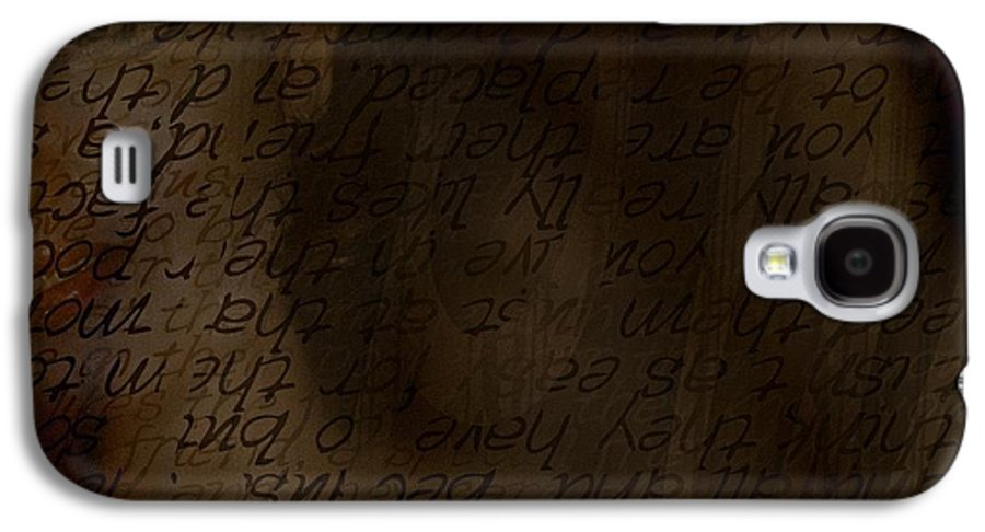 Implication Galaxy S4 Case featuring the photograph Different Dialects by Vicki Ferrari