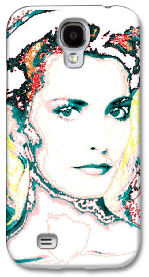 Digital Galaxy S4 Case featuring the digital art Digital Self Portrait by Kathleen Sepulveda