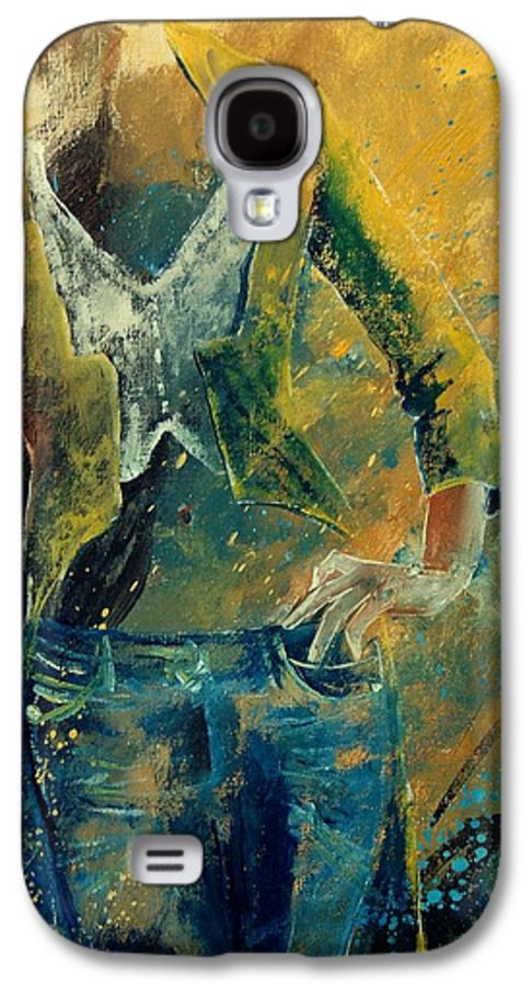 Woman Girl Fashion Galaxy S4 Case featuring the painting Dinner Jacket by Pol Ledent