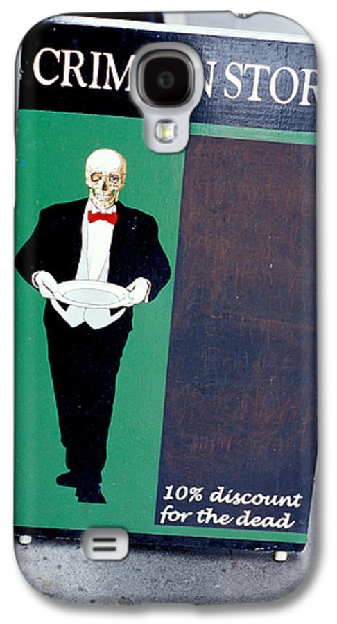 Dead Galaxy S4 Case featuring the photograph Discount For The Dead by Carl Purcell