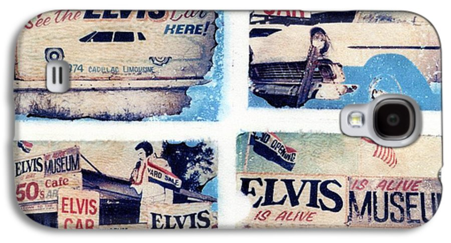 Elvis Galaxy S4 Case featuring the photograph Disgraceland by Jane Linders