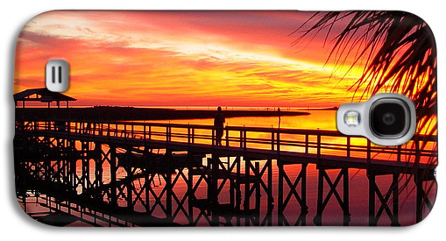 Palms Galaxy S4 Case featuring the photograph Docking It by Debbie May