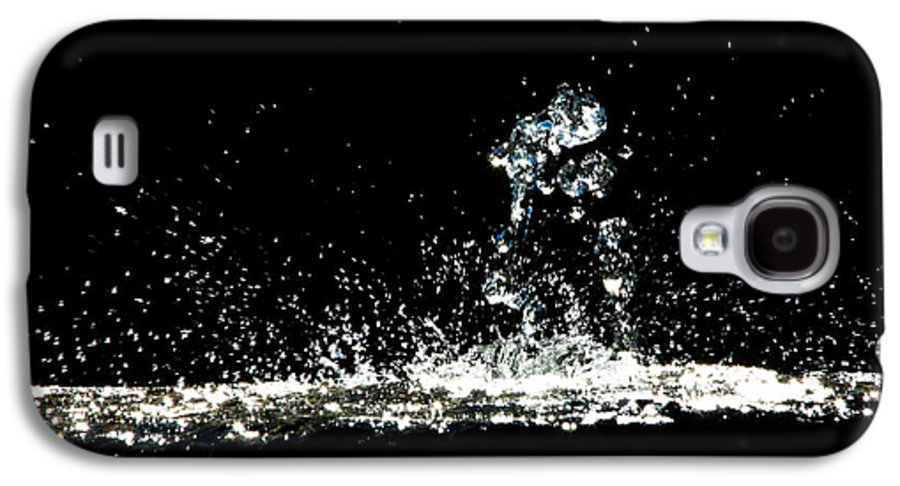 Art Galaxy S4 Case featuring the photograph Don't Threaten Me With Love. by Bob Orsillo