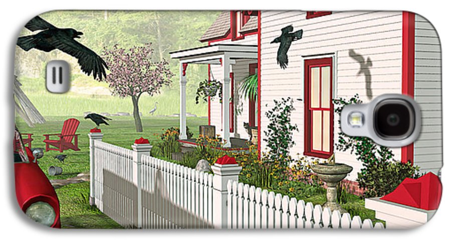 Victorian House Galaxy S4 Case featuring the photograph Downeast Morning by Peter J Sucy
