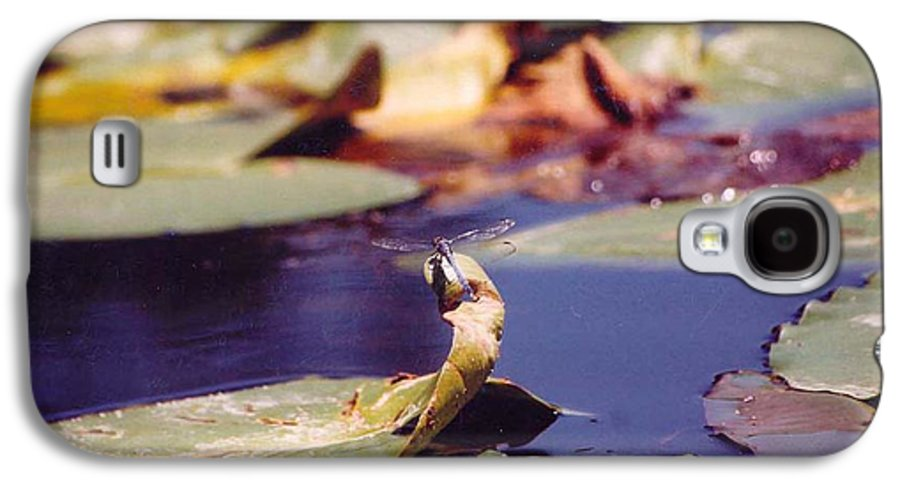 Insect Galaxy S4 Case featuring the photograph Dragon Fly by Margaret Fortunato