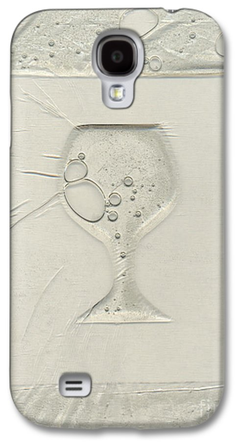 Wine Galaxy S4 Case featuring the painting Drinking Alone by Rick Silas
