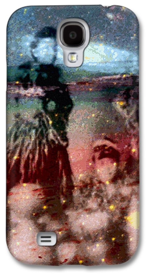 Tropical Interior Design Galaxy S4 Case featuring the photograph E Ola Ana No by Kenneth Grzesik