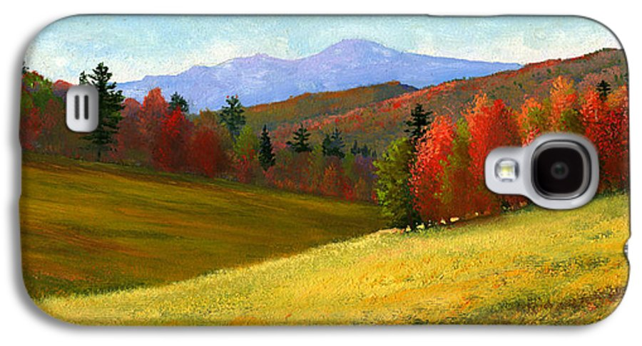 Landscape Galaxy S4 Case featuring the painting Early October by Frank Wilson