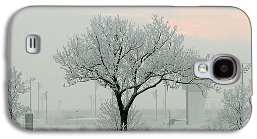 White Galaxy S4 Case featuring the photograph Eerie Days by Christine Till