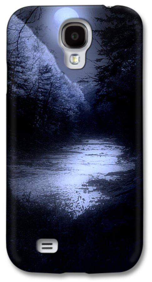 Moon Galaxy S4 Case featuring the photograph Eerie Tranquility by Kenneth Krolikowski