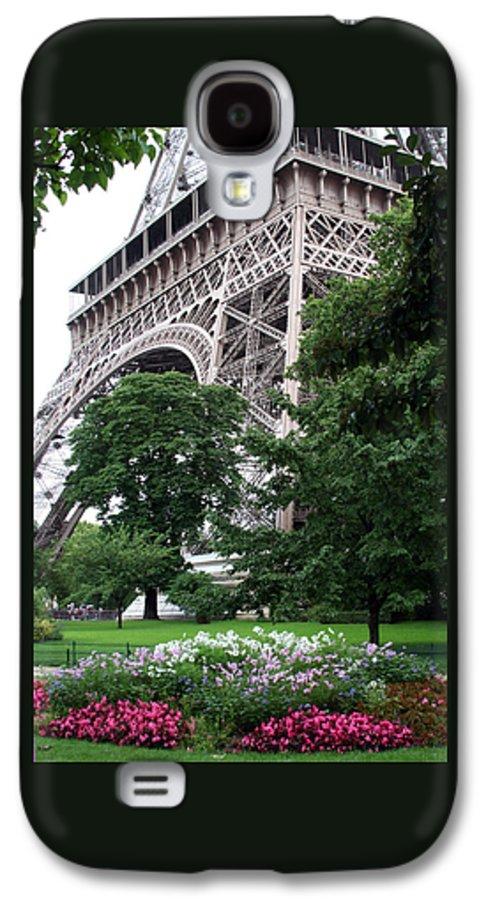Eiffel Galaxy S4 Case featuring the photograph Eiffel Tower Garden by Margie Wildblood