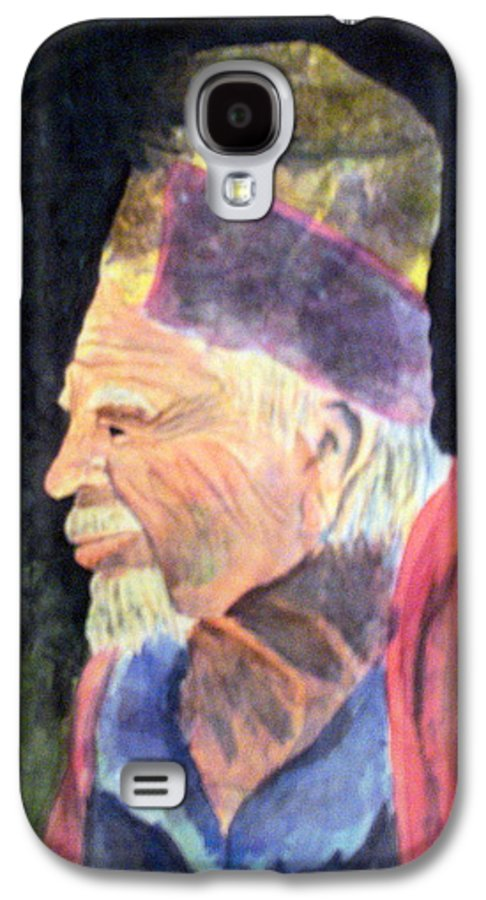 Elder Galaxy S4 Case featuring the painting Elder by Susan Kubes