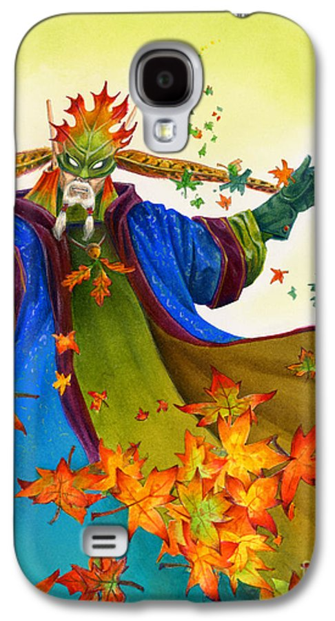 Elf Galaxy S4 Case featuring the painting Elven Mage by Melissa A Benson