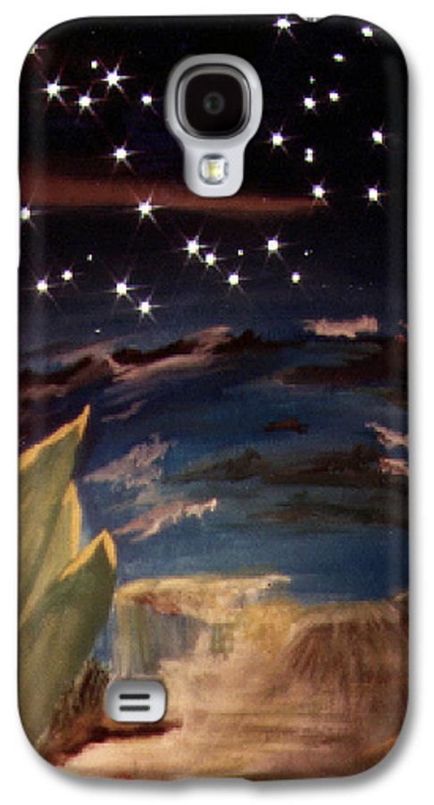Surreal Galaxy S4 Case featuring the painting Enter My Dream by Steve Karol