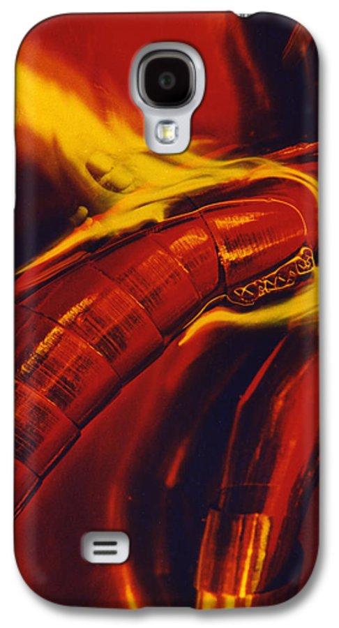 Abstract Galaxy S4 Case featuring the photograph Eritico by David Rivas
