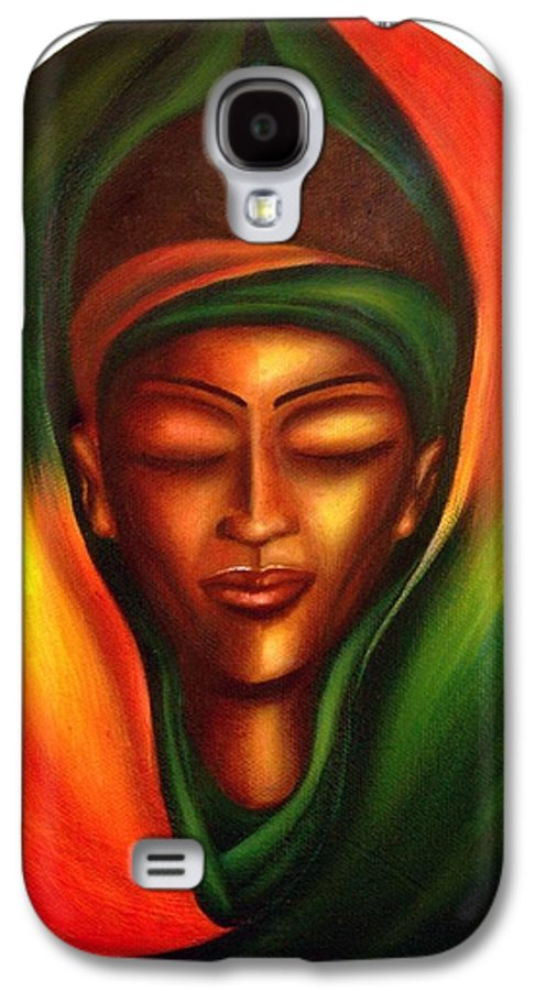 Beauty Galaxy S4 Case featuring the painting Essence by Lee Grissett
