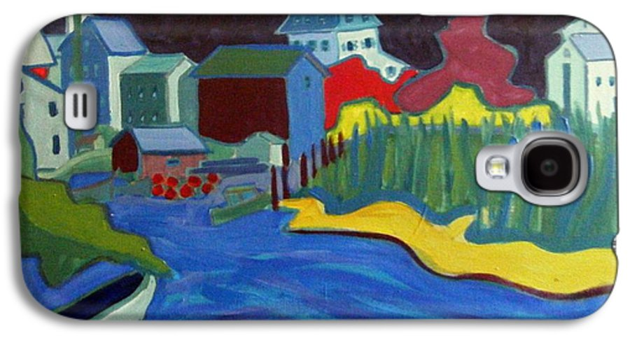 Essex River Galaxy S4 Case featuring the painting Essex River by Debra Bretton Robinson