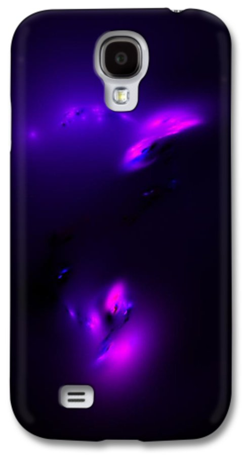 Abstract Digital Painting Galaxy S4 Case featuring the digital art Europa Life Under The Ice by David Lane