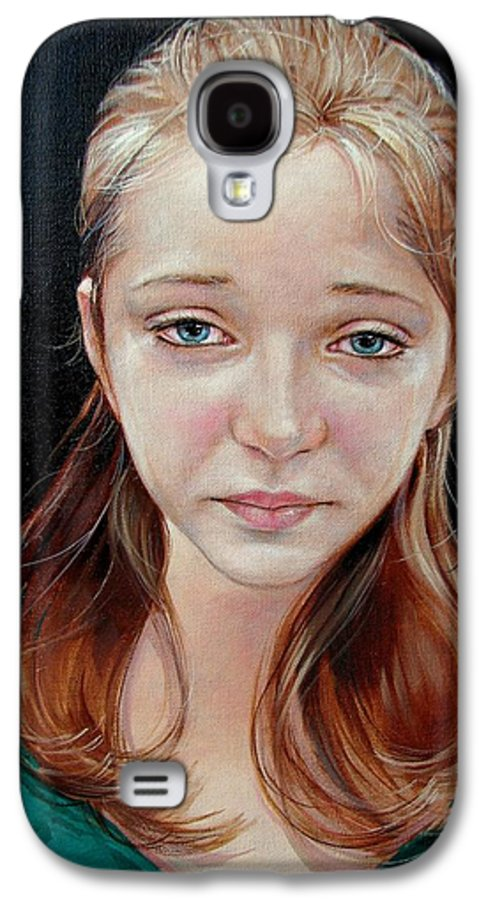 Sadness Galaxy S4 Case featuring the painting Experience Of Loss 2004 by Jerrold Carton
