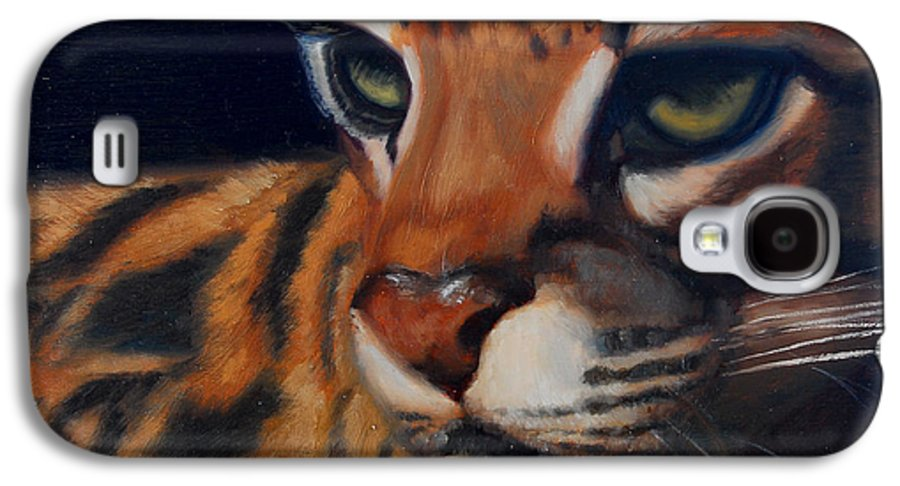 Painting Galaxy S4 Case featuring the painting Eyes Wide Open by Greg Neal