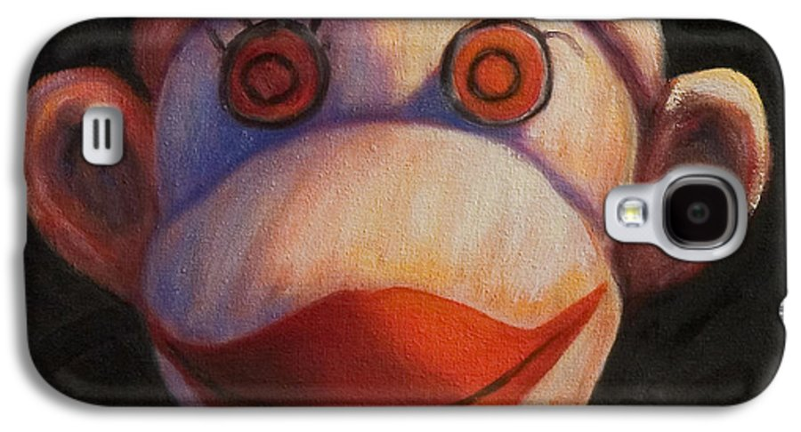 Children Galaxy S4 Case featuring the painting Face by Shannon Grissom