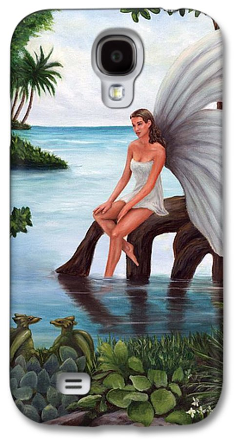 Fairies Galaxy S4 Case featuring the painting Fairies Glade by Anne Kushnick