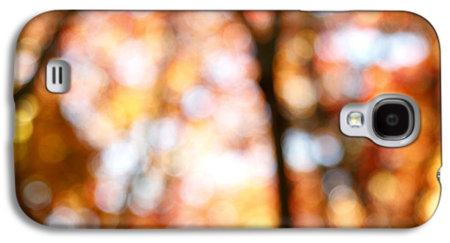Abstract Galaxy S4 Case featuring the photograph Fall Colors by Les Cunliffe