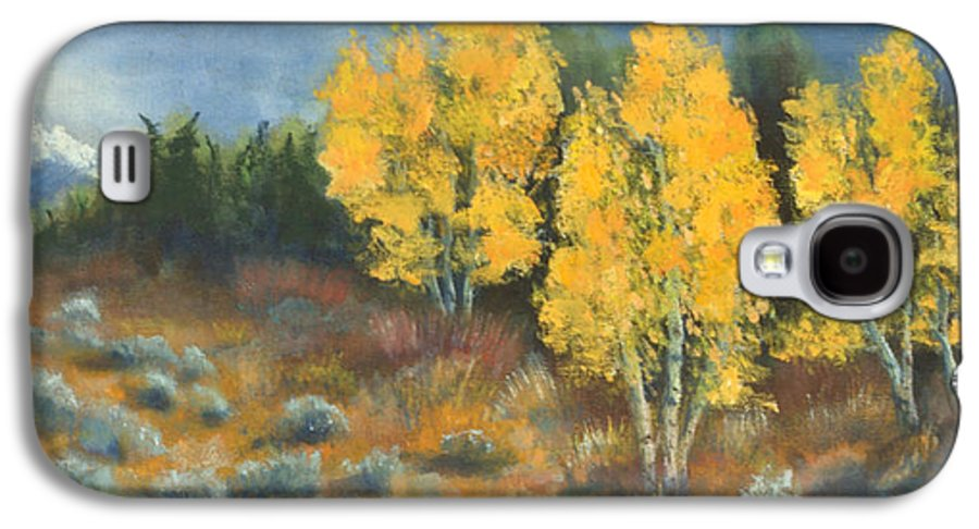 Landscape Galaxy S4 Case featuring the painting Fall Delight by Jerry McElroy