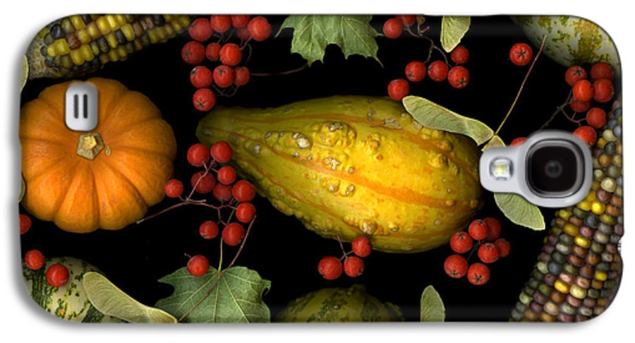 Slanec Galaxy S4 Case featuring the photograph Fall Harvest by Christian Slanec