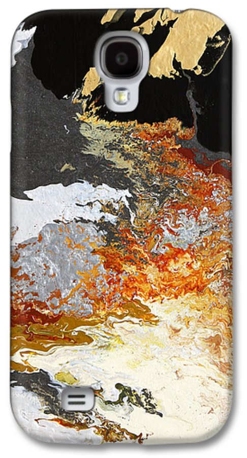 Fusionart Galaxy S4 Case featuring the painting Fathom by Ralph White