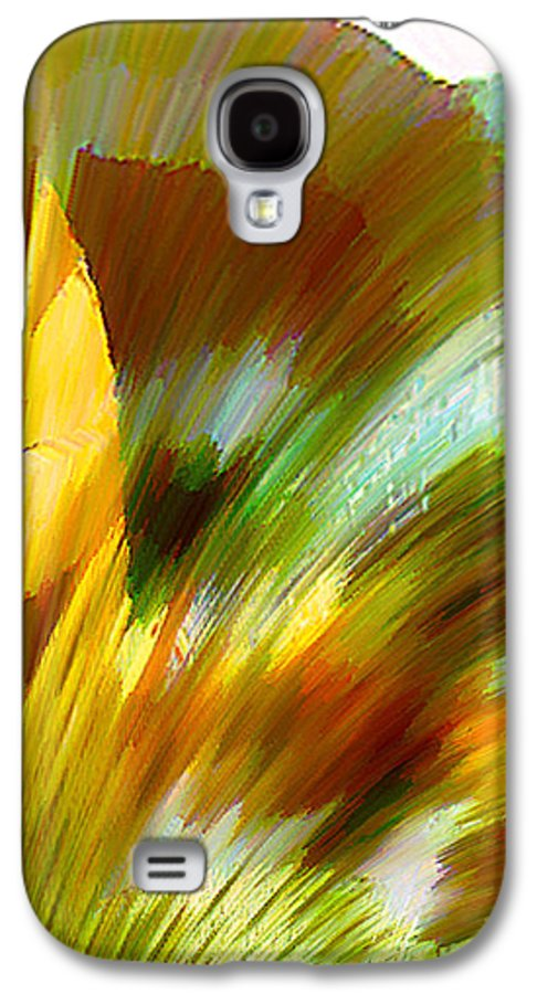 Landscape Digital Art Watercolor Water Color Mixed Media Galaxy S4 Case featuring the digital art Feather by Anil Nene