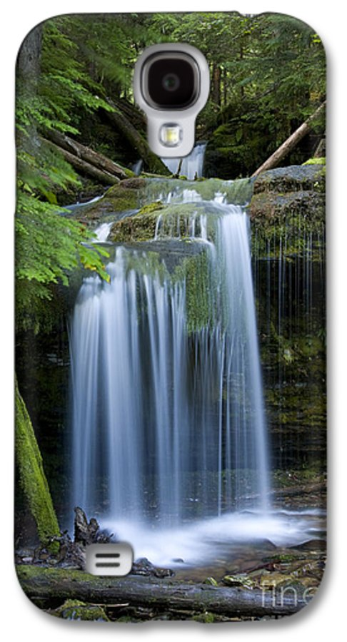 Waterfalls Galaxy S4 Case featuring the photograph Fern Falls by Idaho Scenic Images Linda Lantzy
