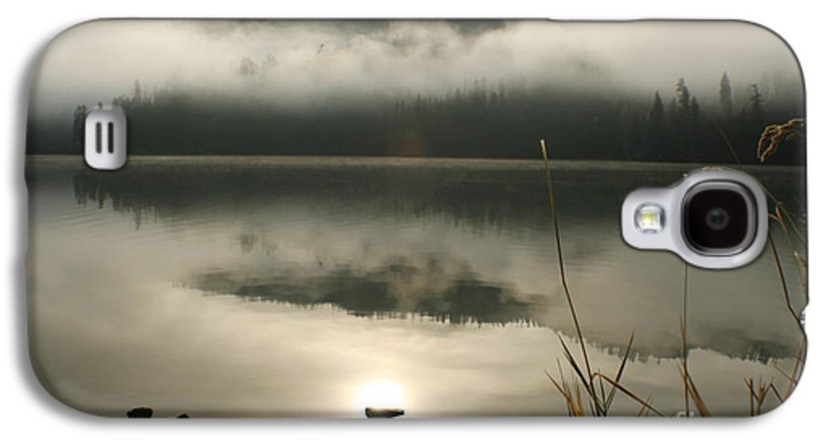 Mist Galaxy S4 Case featuring the photograph Fernan Fog by Idaho Scenic Images Linda Lantzy