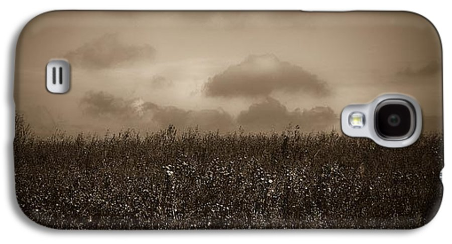 Poland Galaxy S4 Case featuring the photograph Field In Sepia Northern Poland by Michael Ziegler