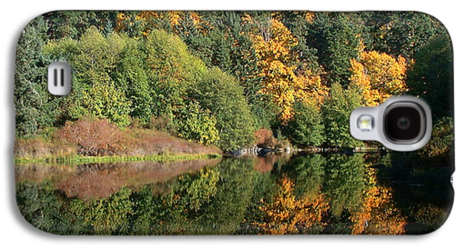 Fall Galaxy S4 Case featuring the photograph Final Reflection by Larry Keahey