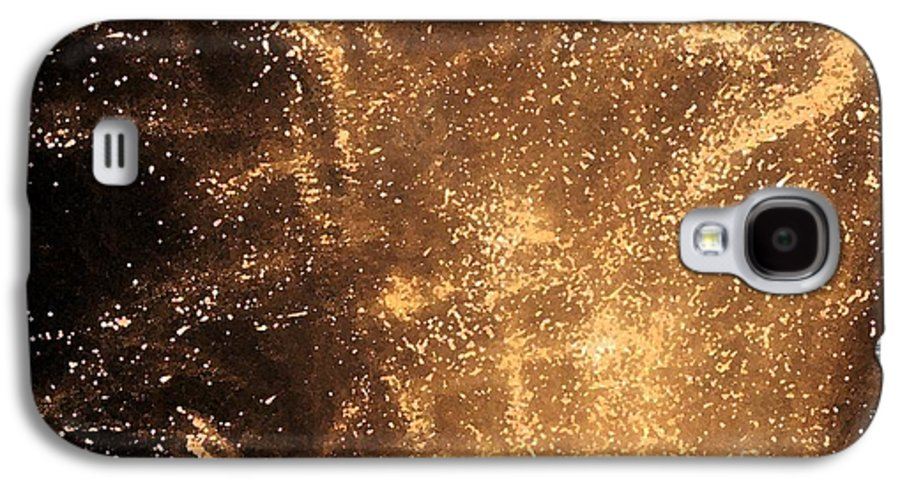 Fireworks Galaxy S4 Case featuring the photograph Fired Up by Debbi Granruth