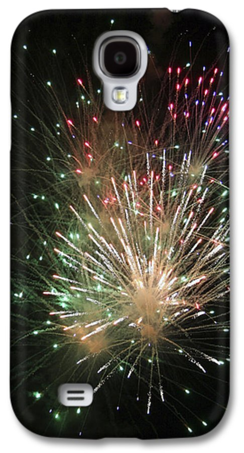 Fireworks Galaxy S4 Case featuring the photograph Fireworks by Margie Wildblood