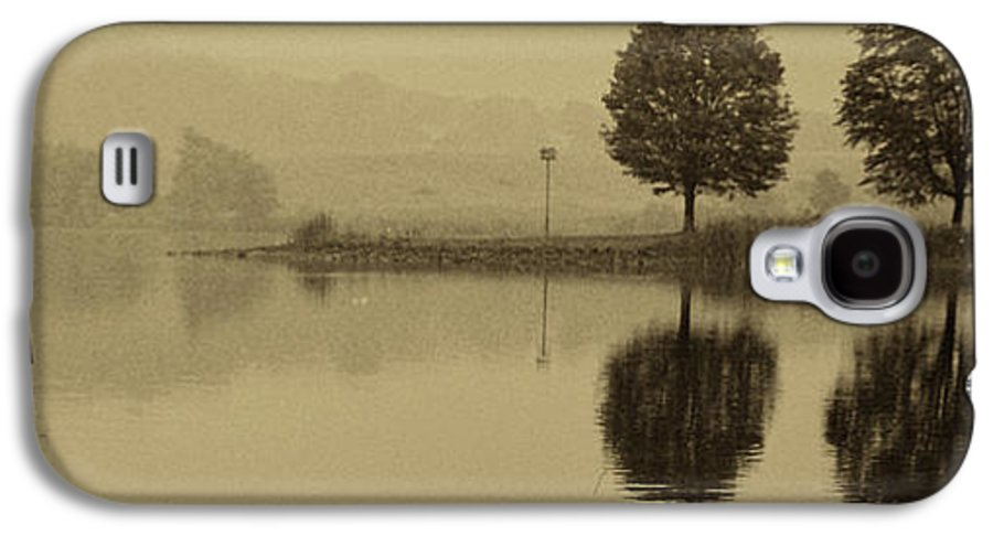 Fishing Galaxy S4 Case featuring the photograph Fishing At Marsh Creek State Park Pa. by Jack Paolini