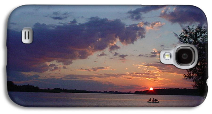 St.lawrence River Galaxy S4 Case featuring the photograph Fishing On The St.lawrence River. by Jerrold Carton