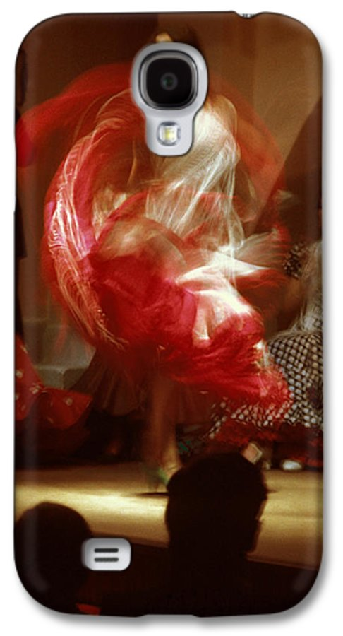Spain Galaxy S4 Case featuring the photograph Flamenco Dancer In Seville by Carl Purcell