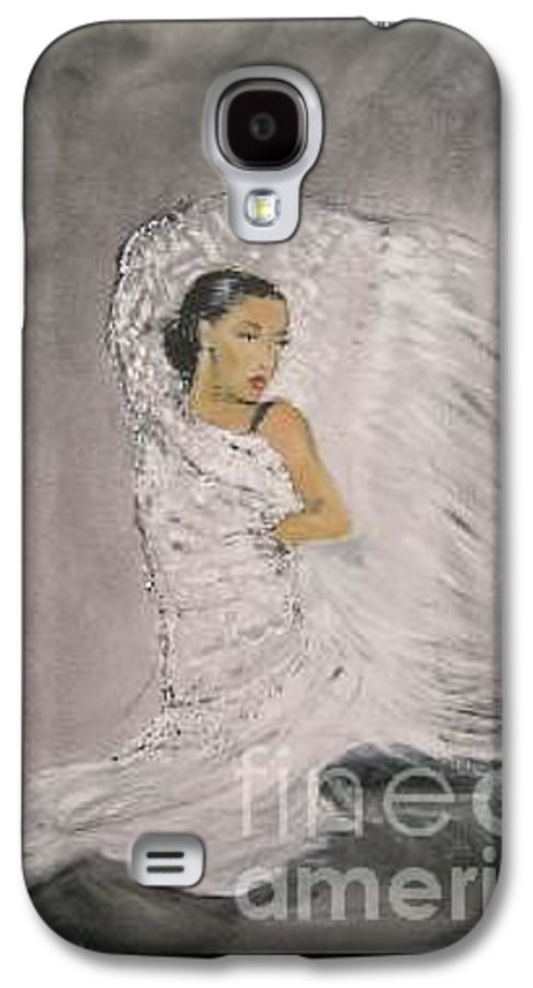 Spain Galaxy S4 Case featuring the painting Flamenco by Lizzy Forrester