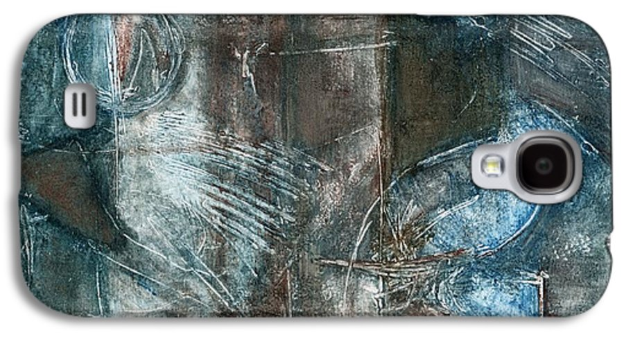 Flight Galaxy S4 Case featuring the drawing Flight Passage by Kerryn Madsen- Pietsch