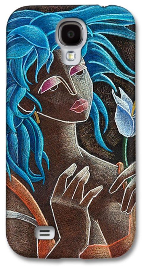 Puerto Rico Galaxy S4 Case featuring the painting Flor Y Viento by Oscar Ortiz