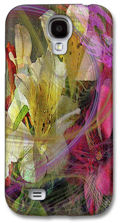 Floral Inspiration Galaxy S4 Case featuring the digital art Floral Inspiration by John Beck