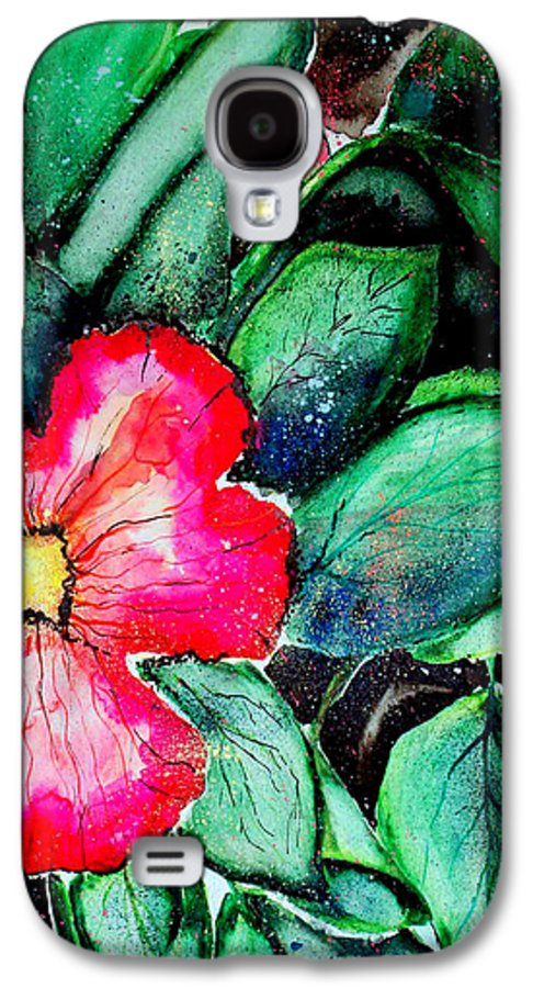 Exotic Galaxy S4 Case featuring the photograph Florida Flower by Margaret Fortunato