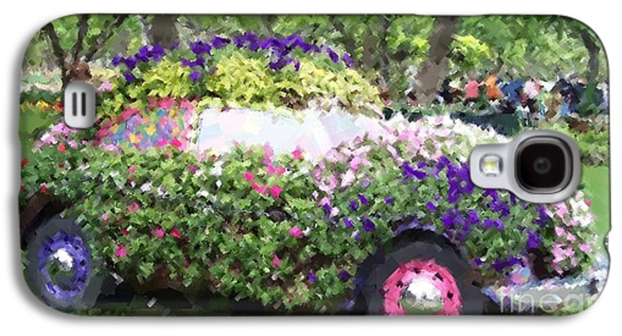 Cars Galaxy S4 Case featuring the photograph Flower Power by Debbi Granruth